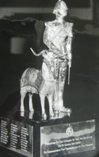 the Goat and Soldier statue